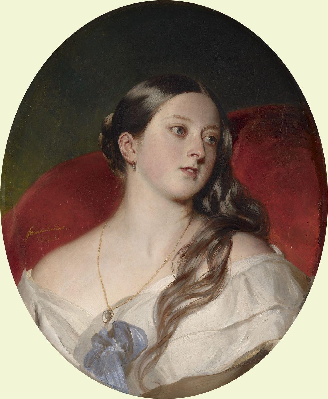 1. Secret painting by Franz Xaver Winterhalter, 1843.jpg
