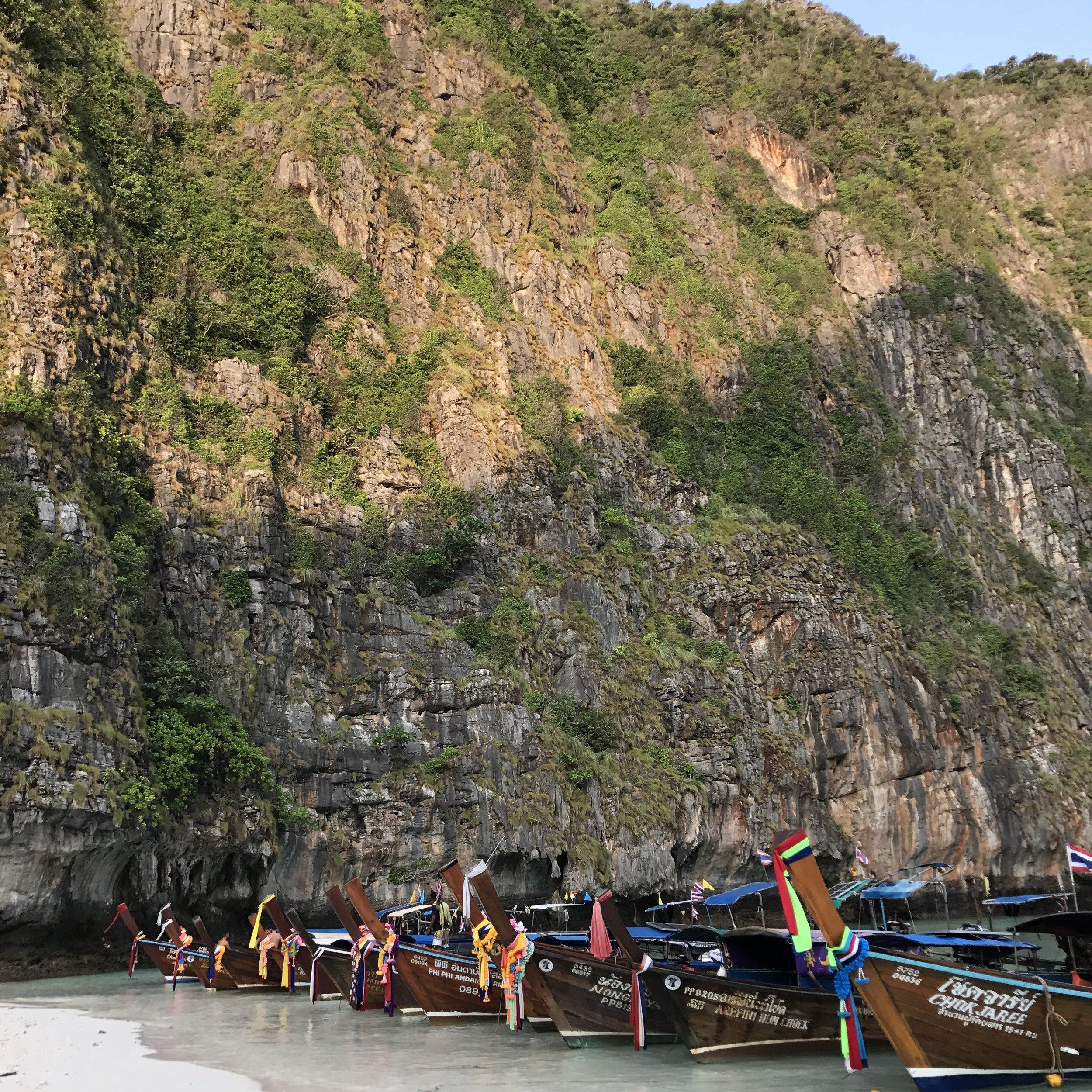 Maya Bay at Ko Phi Phi Le