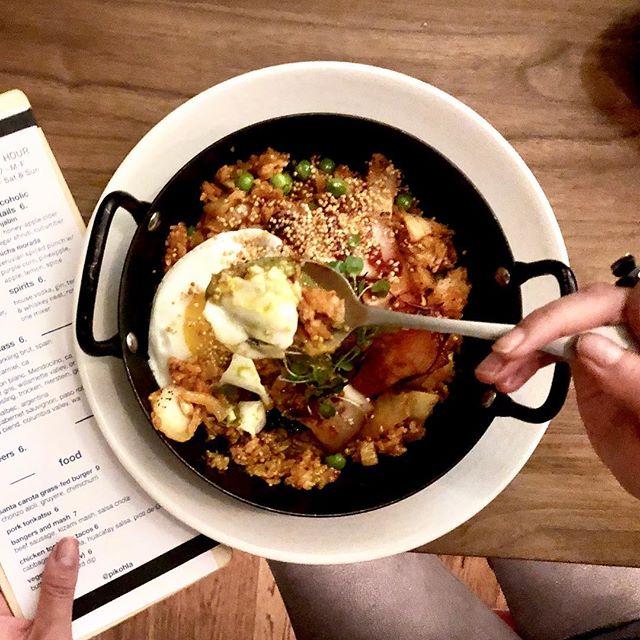 Kimchi fried rice @pikohla 😋