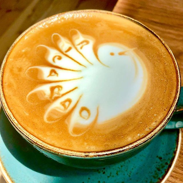 Cafe latte @pikohla 😊
