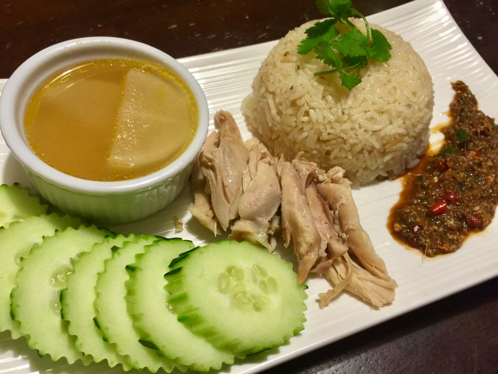 Chicken Hainanese Rice