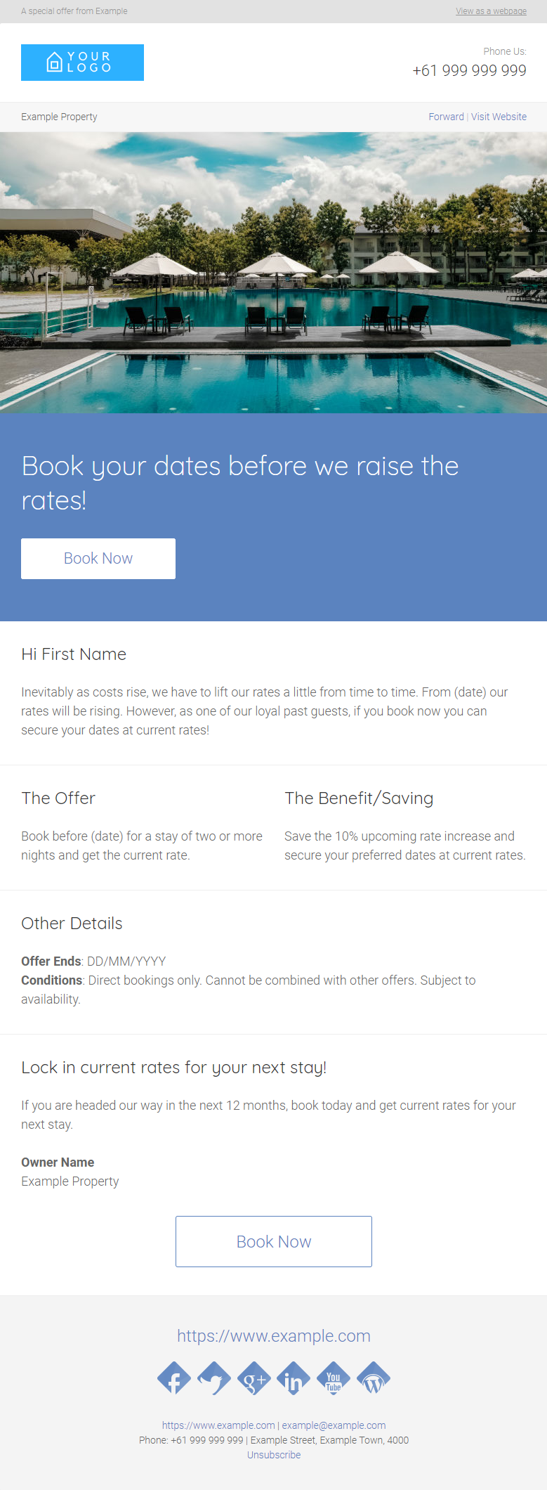 BEAT A RATE RISE - Click to view
