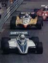 Riccardo followed by Prost & Pironi