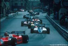 Monaco GP - early laps