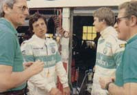 Riccardo & Eddie Cheever