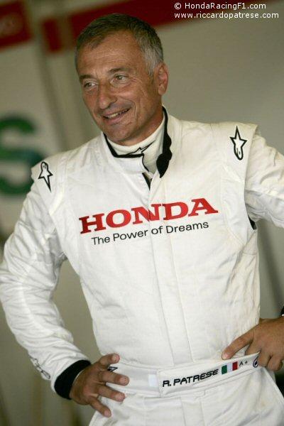 2008 Honda F1 Test