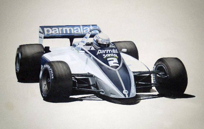 Riccardo Patrese Brabham BT49