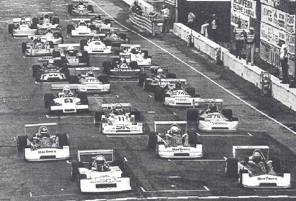 The start of the 1978 Macau GP