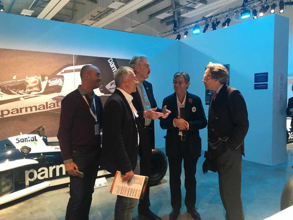 David Brabham, Riccardo, Gordon Murray, Alain de Cadenet and Lord March
