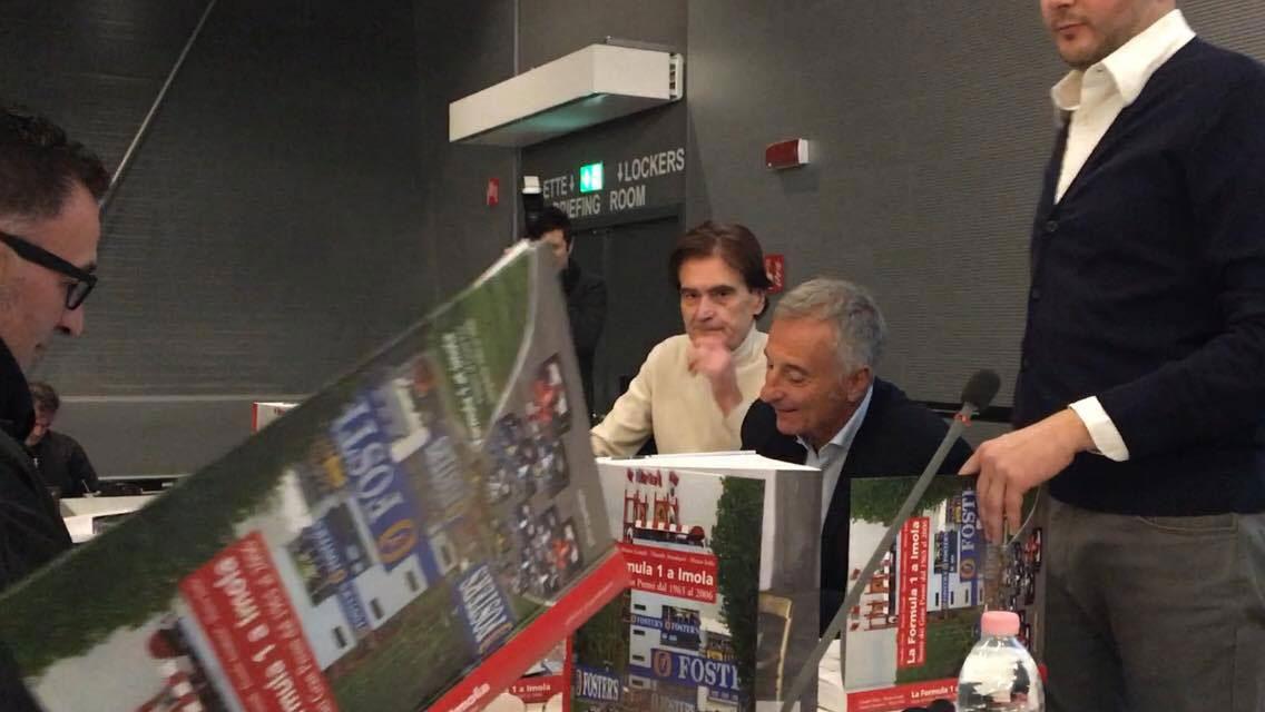 """Presentazione del volume """"La Formula 1 a Imola - Storia dei Gran Premi dal 1963 al 2006""""  Imola - 16 novembre 2017"""