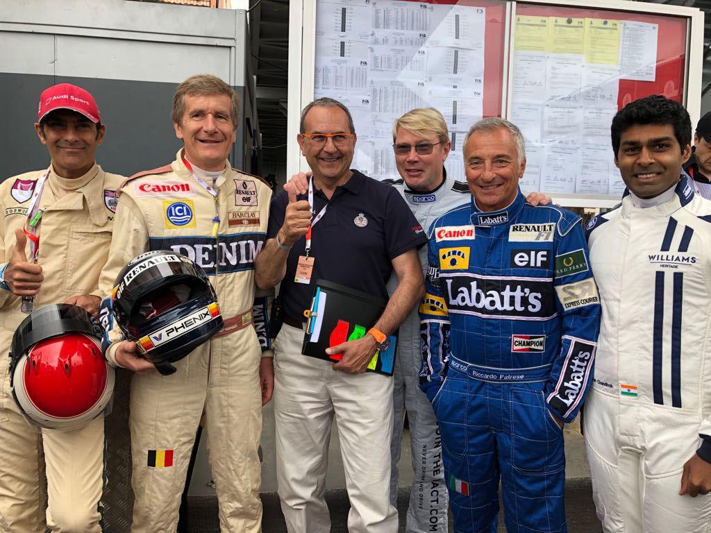 Emanuele Pirro, Thierry Boutsen, Graham Bogle, Mika Häkkinen, Karun Chandhok