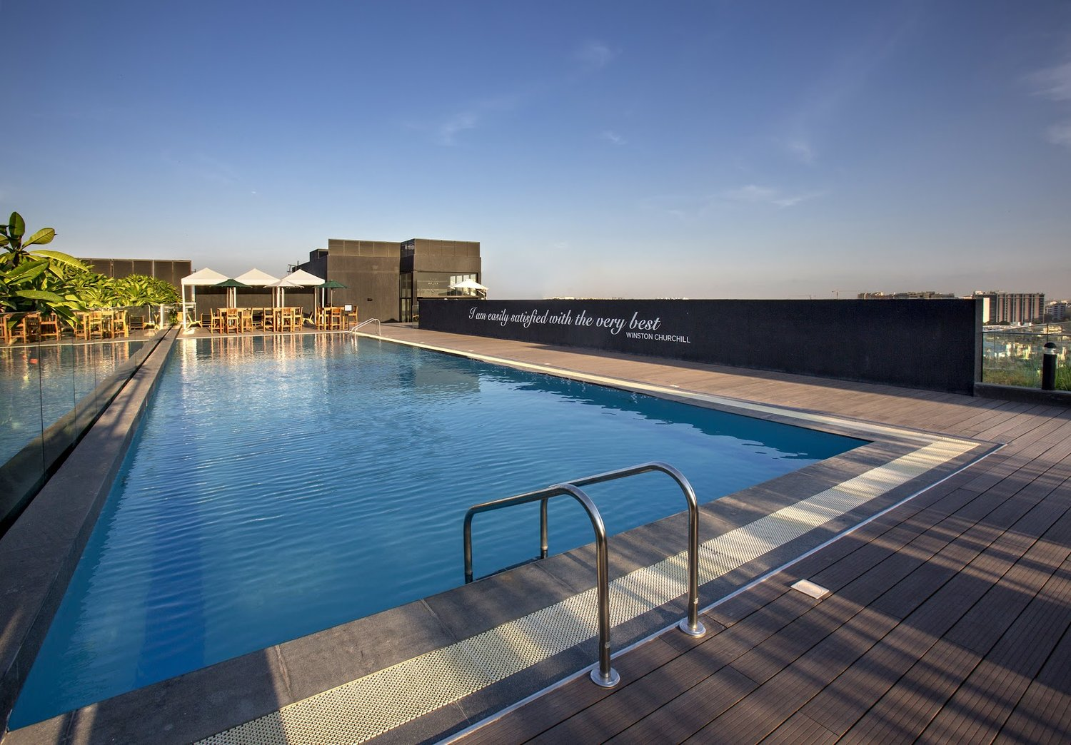 Rooftop Swimming Pool at Hive