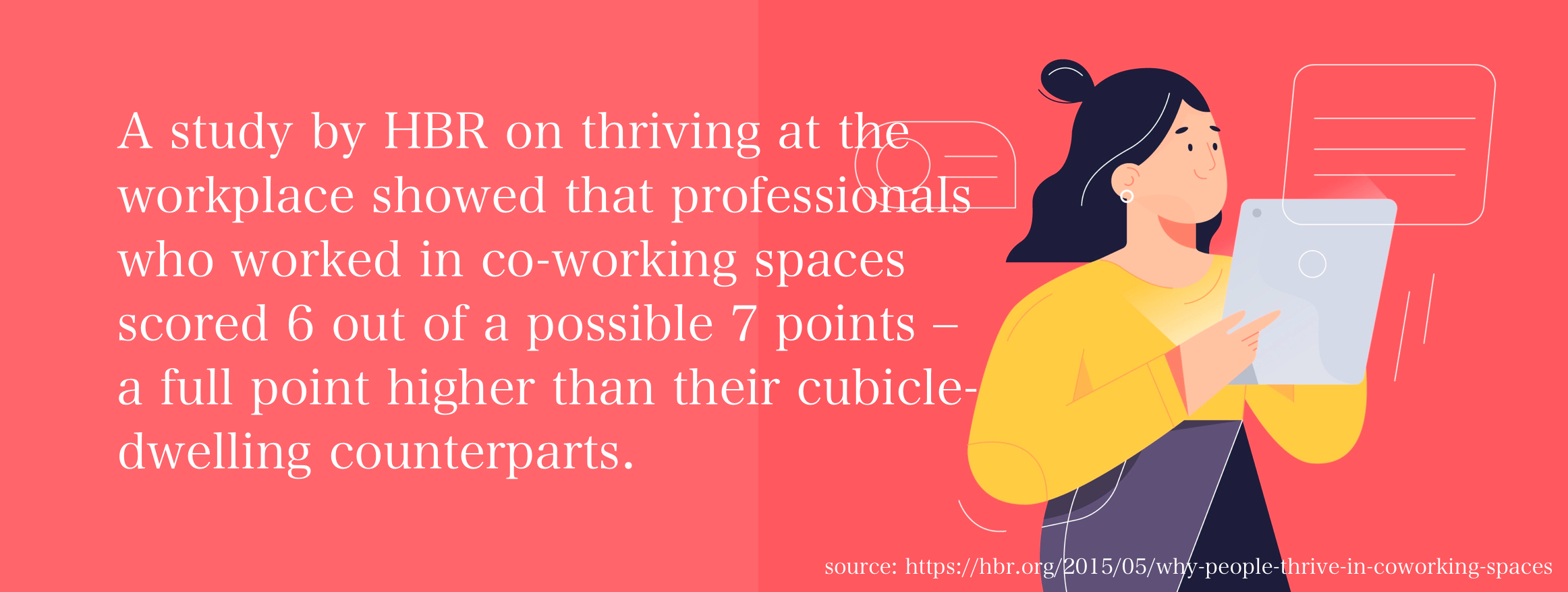 Cubicled Office Spaces