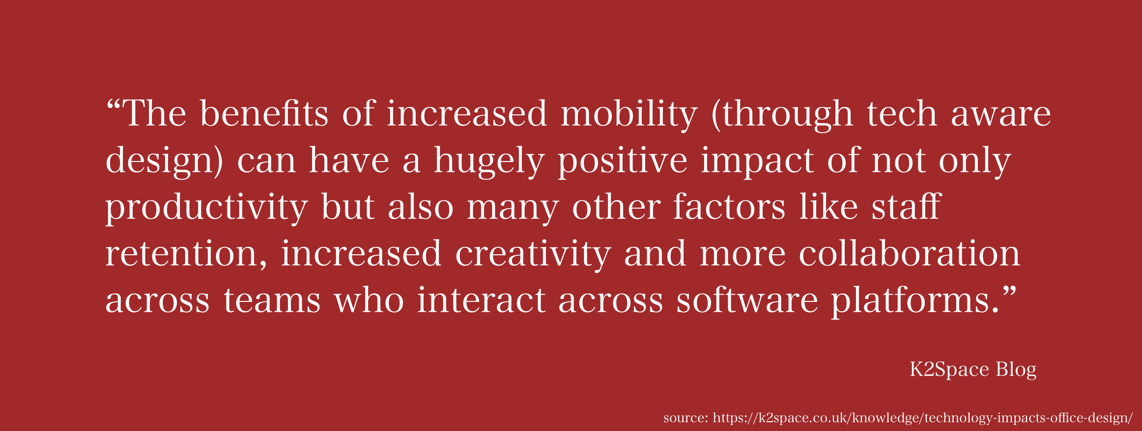 Benefits of Increased Mobility