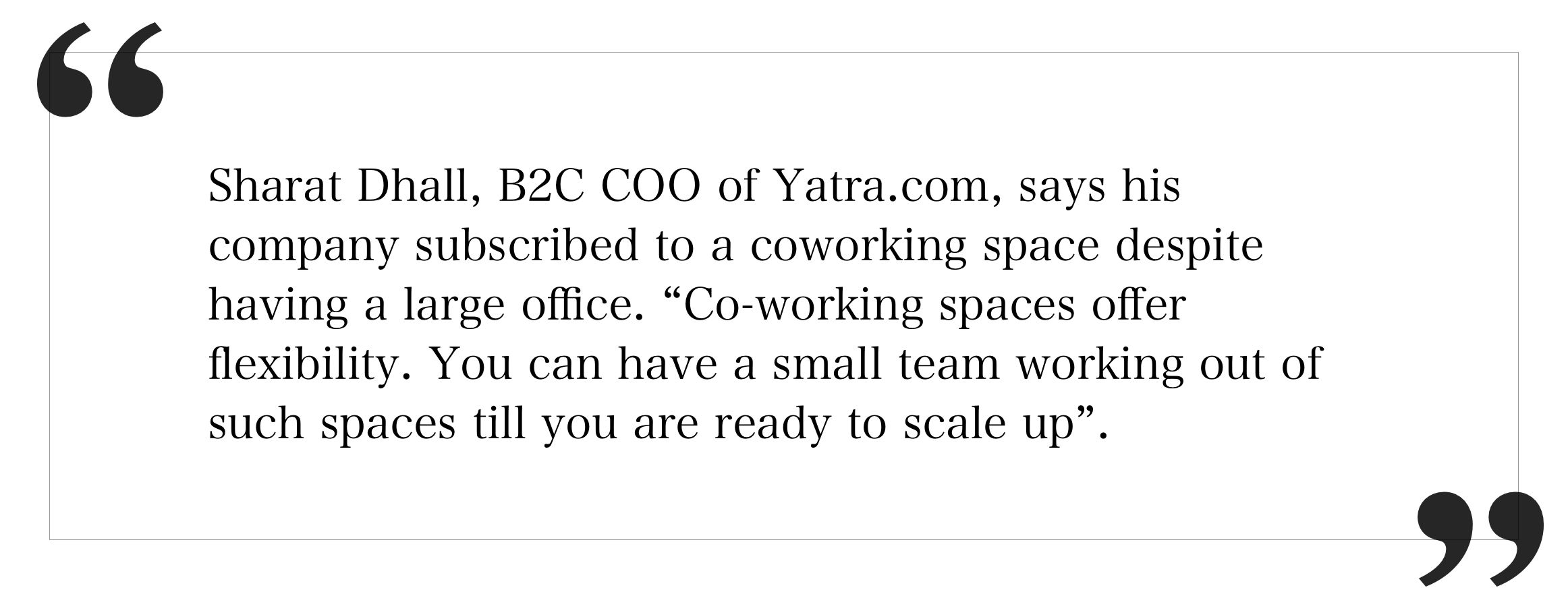 Coworking Space Offer Flexibility
