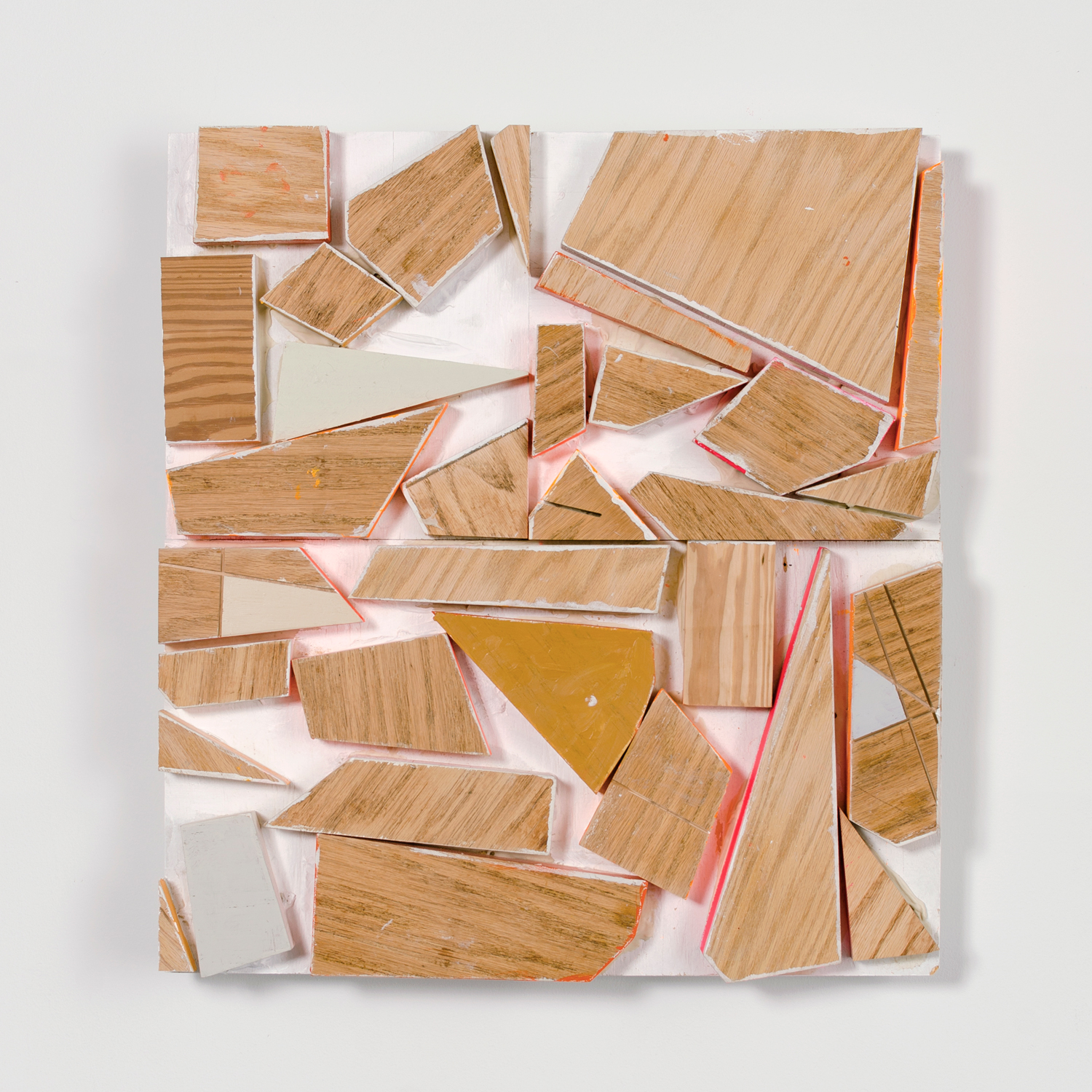 PS11 After School Special #2 , 2015, acrylic and enamel on wood, 26.25 x 24 x 3.25 in