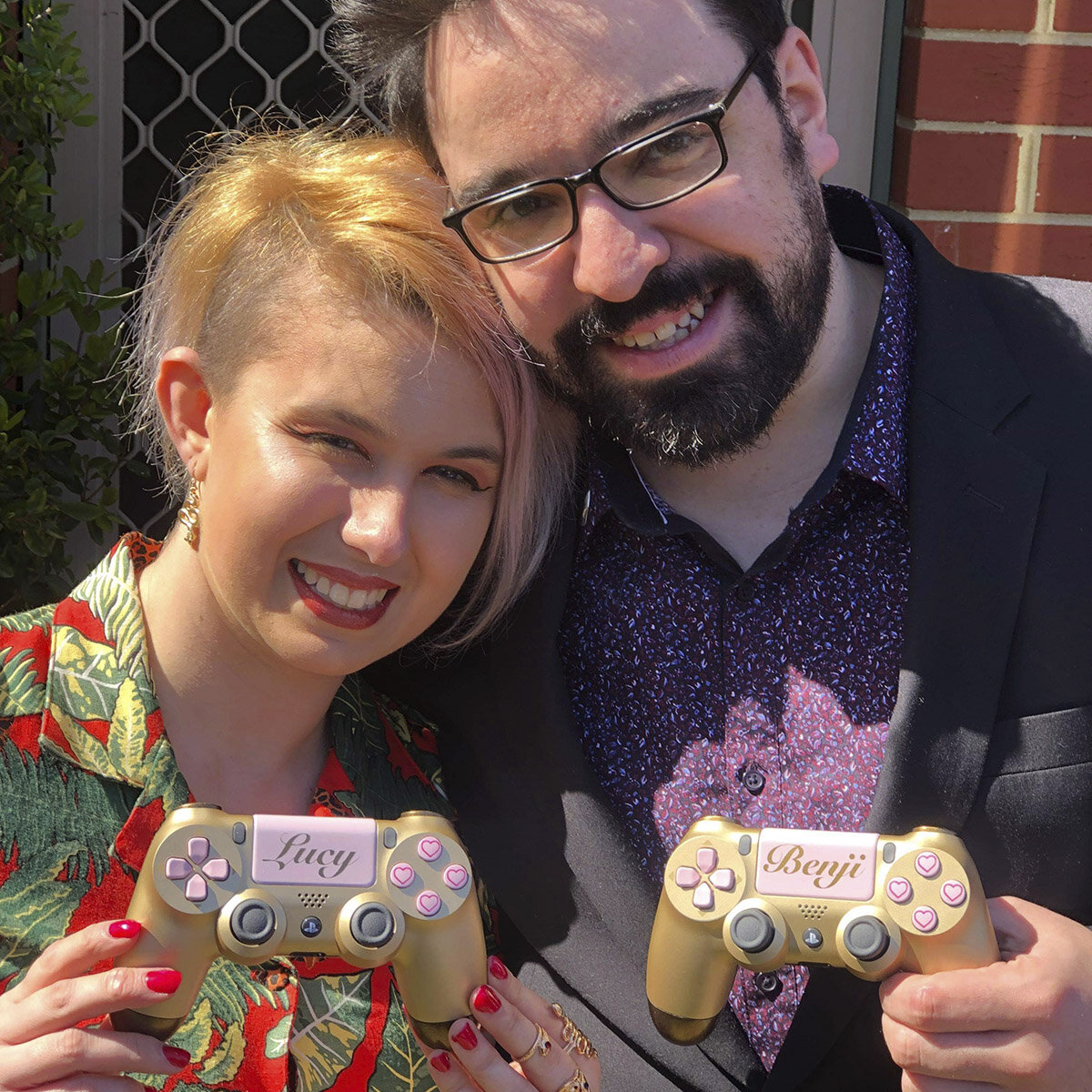 Custm wedding gift controllers - PS$ - We Are Robots