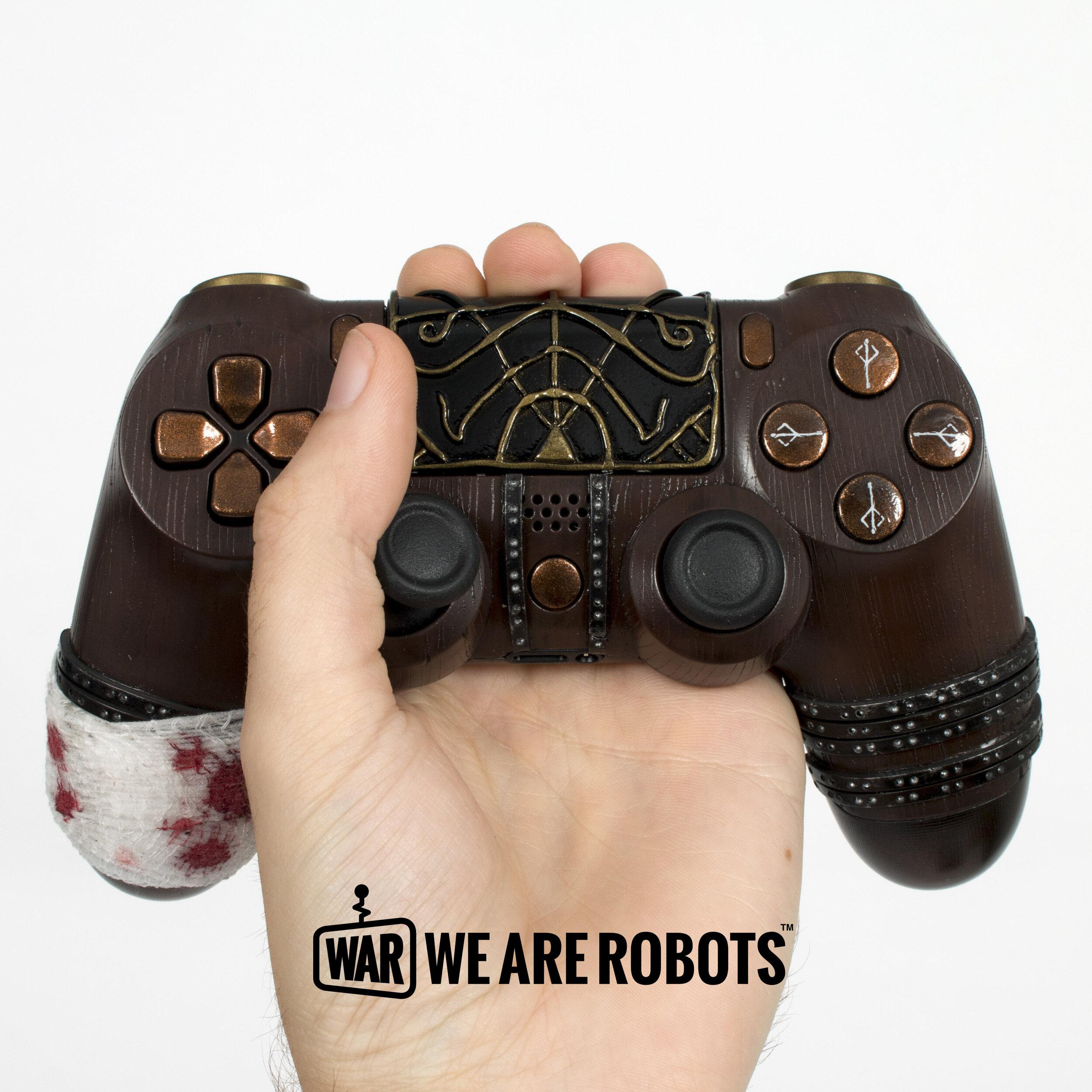 WAR Customs - PS4 Controller - Bloodborne