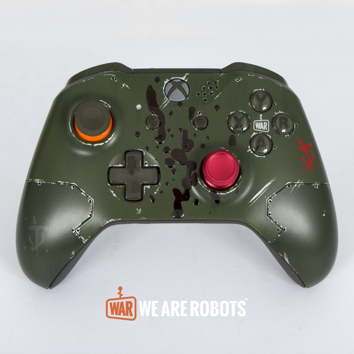 WAR Customs - Xbox One Controller - Doom Slayer