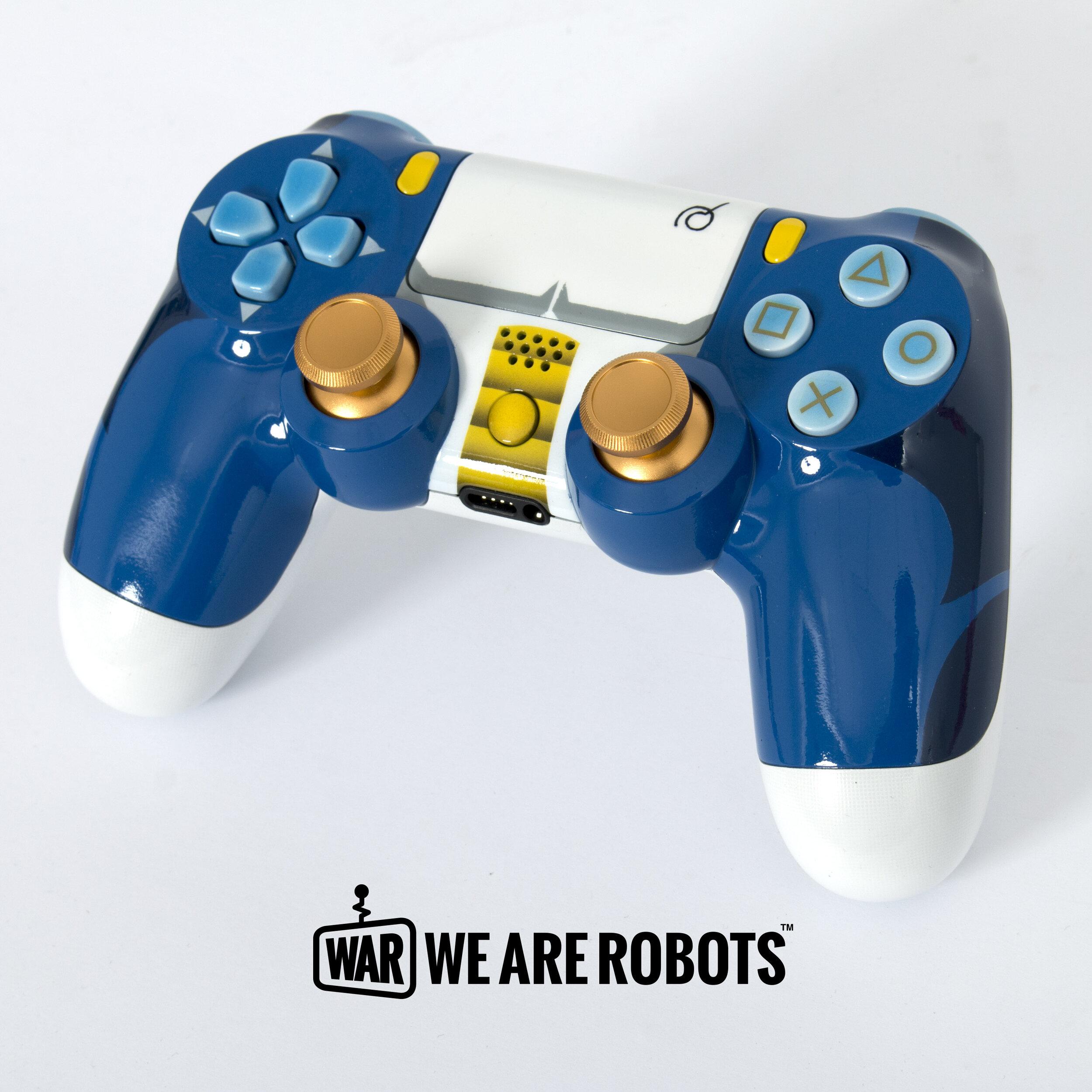 WAR Customs - PS4 Controller - Dragon Ball Z Vegeta