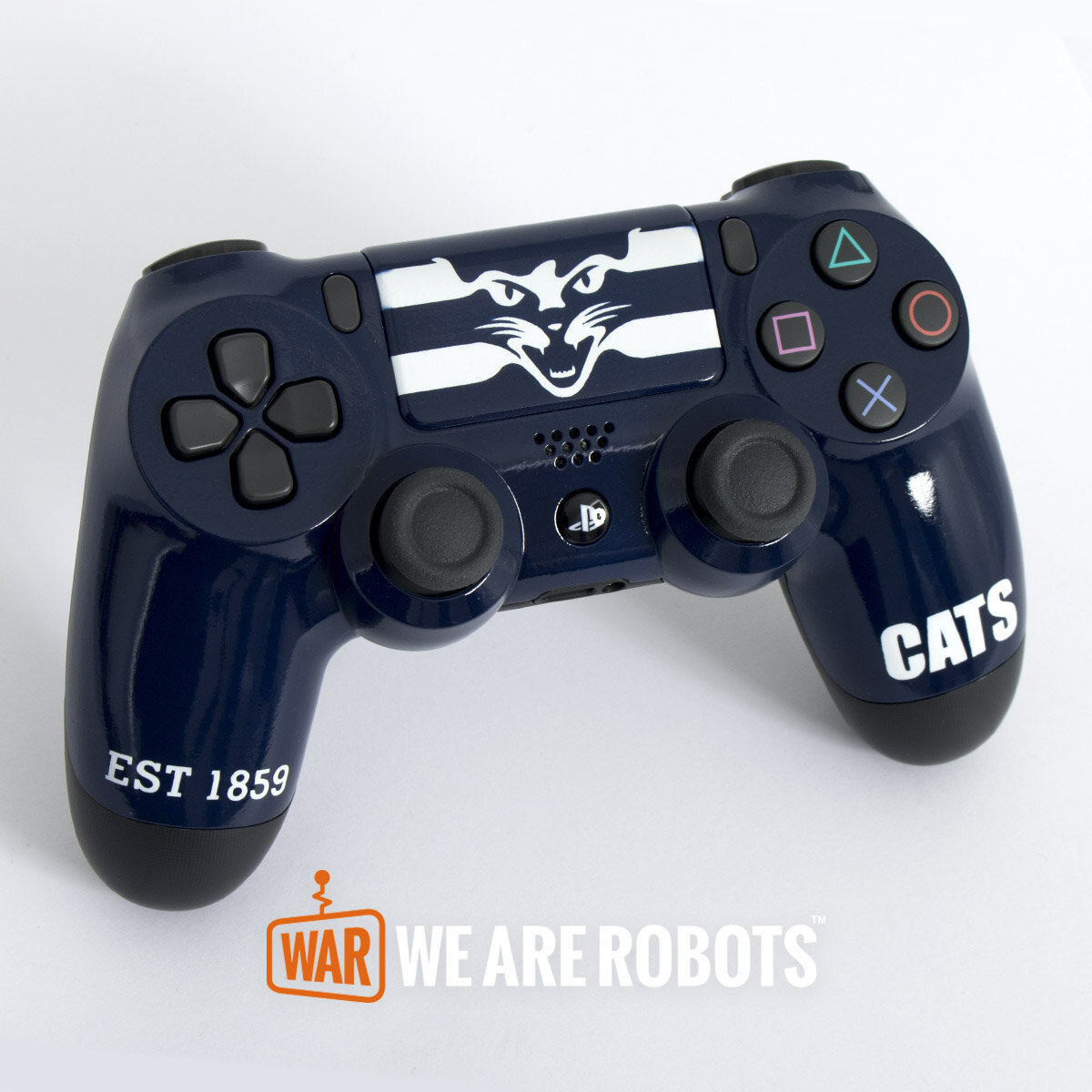 WAR Customs - PS4 Controller - Geelong Cats