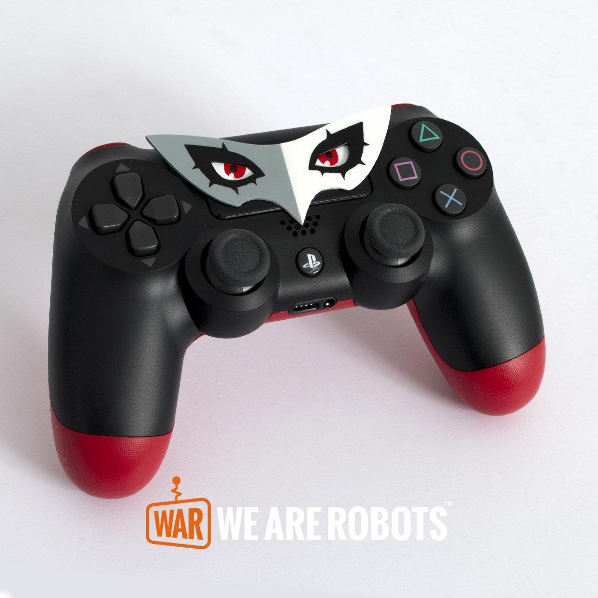 WAR Customs - PS4 Controller - Persona 5 Joker