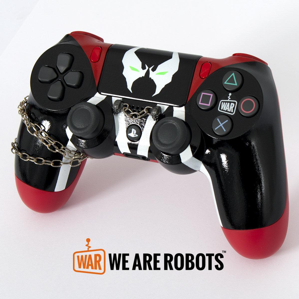 WAR Customs - PS4 Controller - Spawn