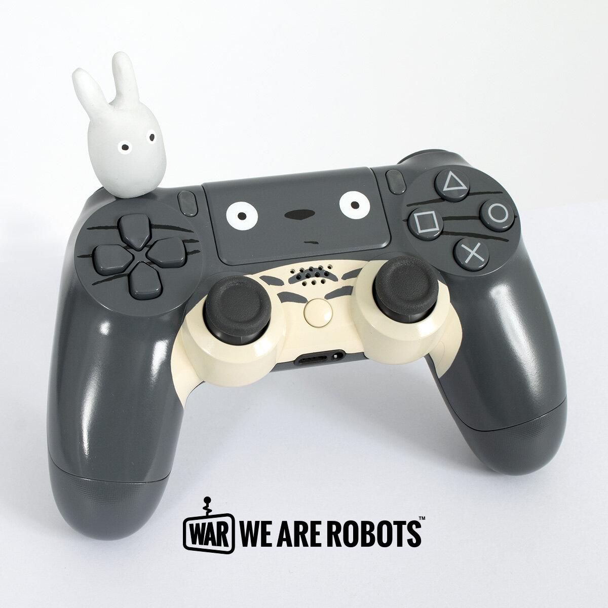 WAR Customs - PS4 Controller - Totoro