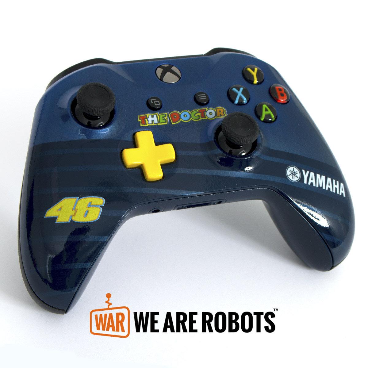 WAR Customs - PS4 Controller - Valentino Rossi 46