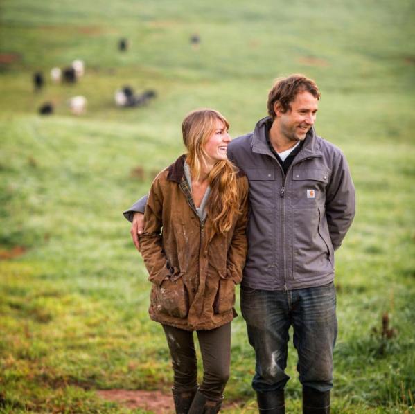 Erica and Joel of Free Union Grass Farm, Virginia. Image: @cramerphoto  @andreahubbel