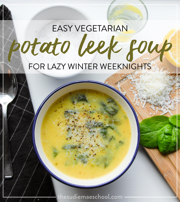 Potato Leek Soup Pin