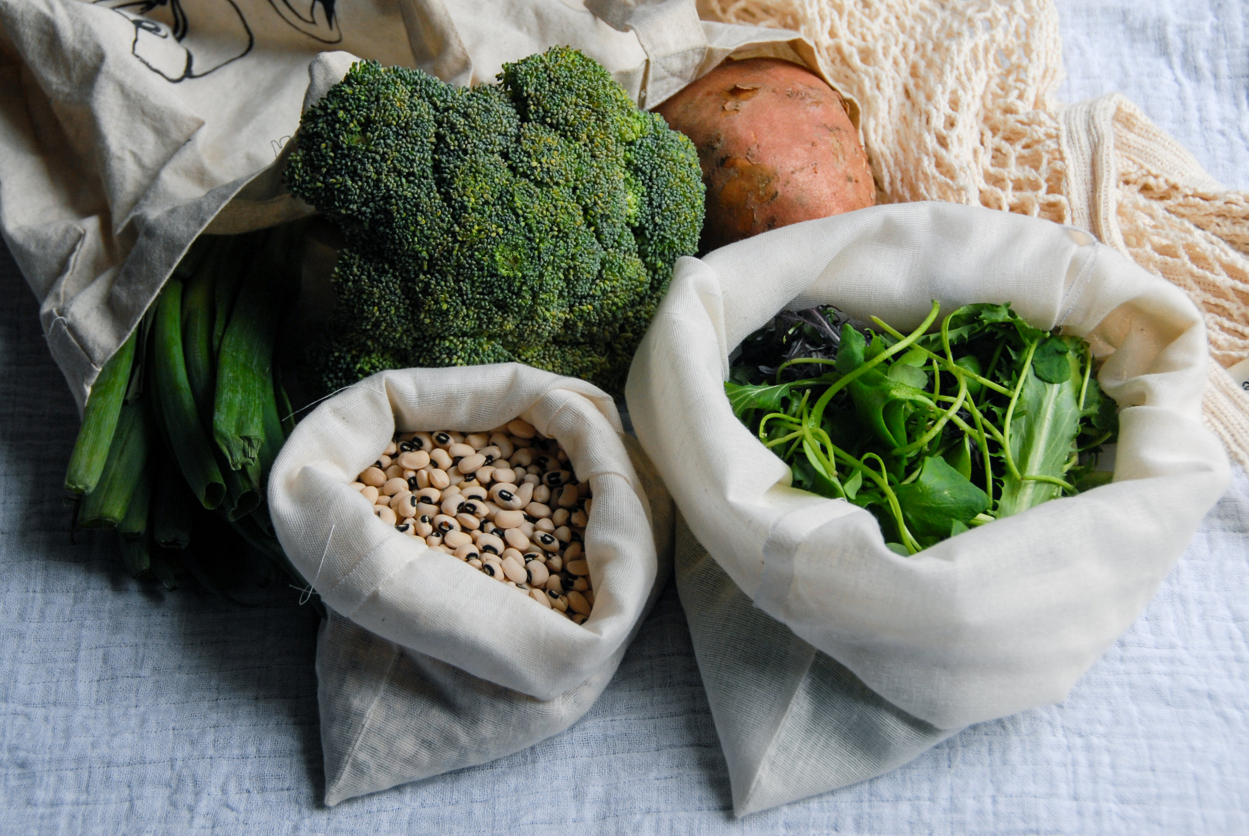 Zero waste grocery bags