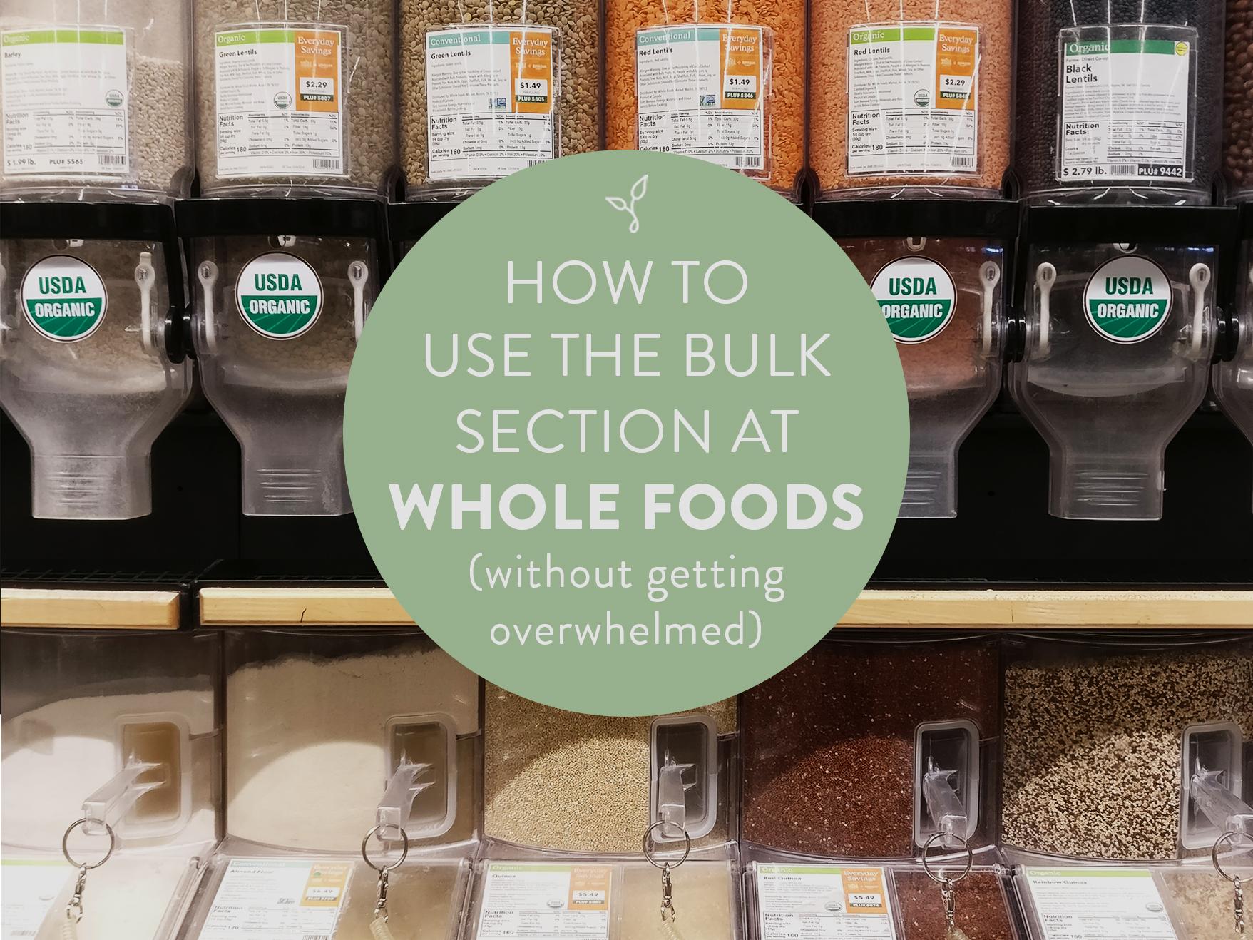 Whole Foods Bulk Bins
