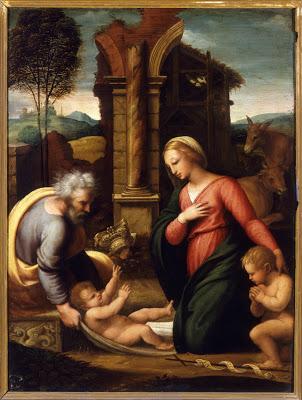 Holy Family , Piero Buonaccorsi, called Perin del Vaga, 1540. Borghese Gallery, Rome