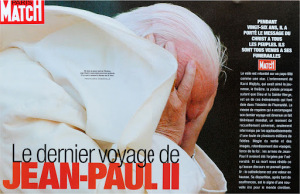 The death of Pope John Paul II, Paris Match, 2005