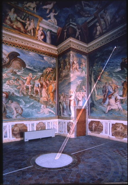 Room of the Meridian, Tower of Winds, Vatican