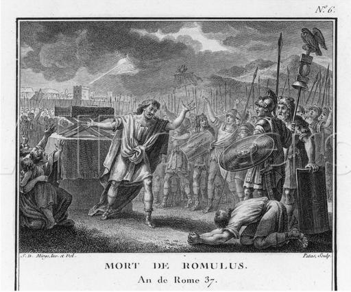 The Death of Romulus,  Augustyn Mirys