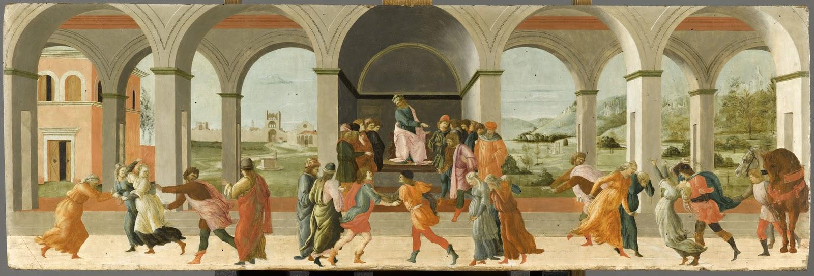 The Story of Virginia,  Filippino Lippi