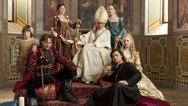 Cast of Showtime's The Borgias   [Source]
