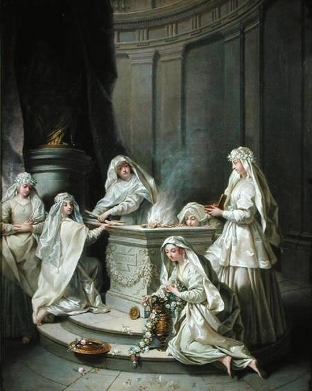 Vestal Virgins , Jean Raoux, 1727