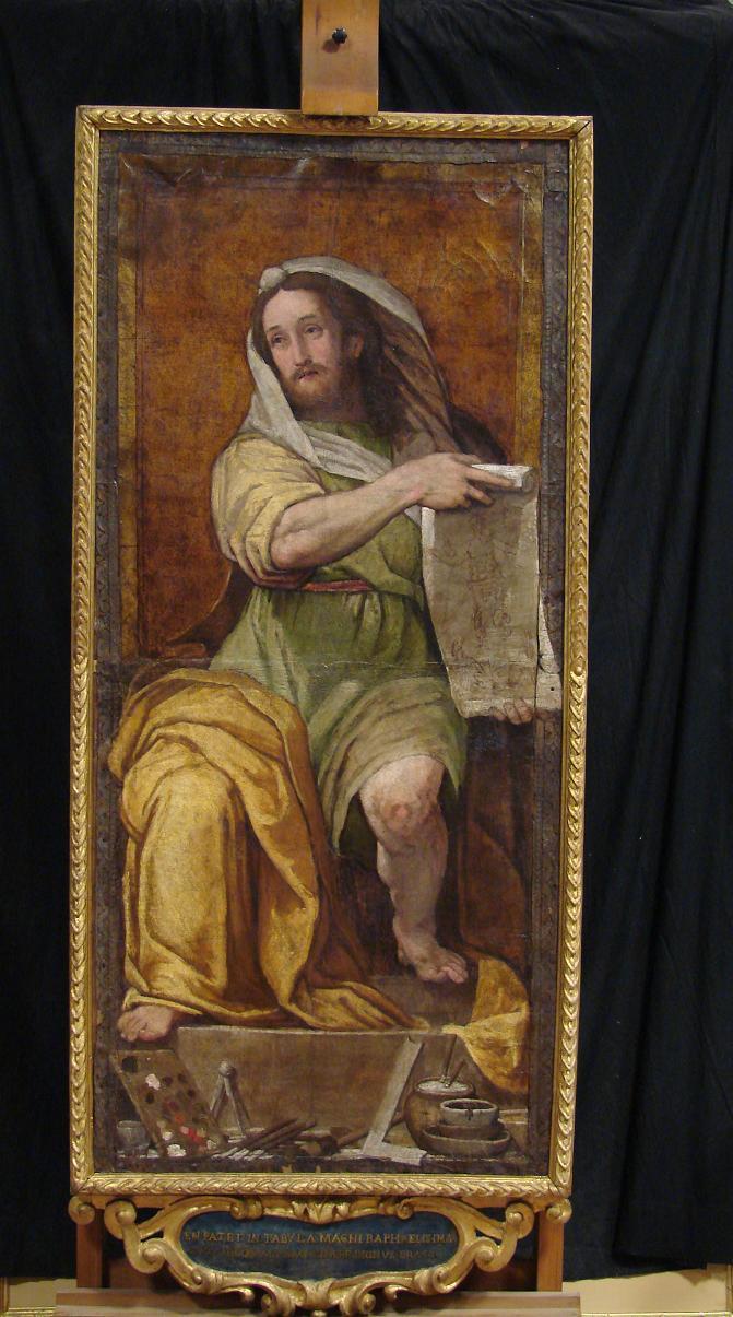 Portrait of Raphael as Isaiah , Federico Zuccari, 1593.