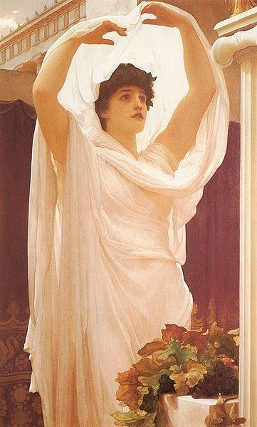 Vestal Virgin , Sir Frederic Leighton, 1880