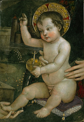 Baby Jesus of the Hands   , Pinturicchio, Fondazione Guglielmo Giordano