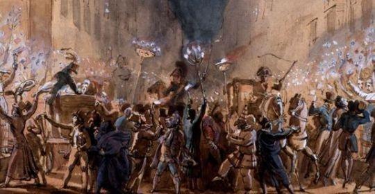 Roman Carnival , Ippolito Caffi