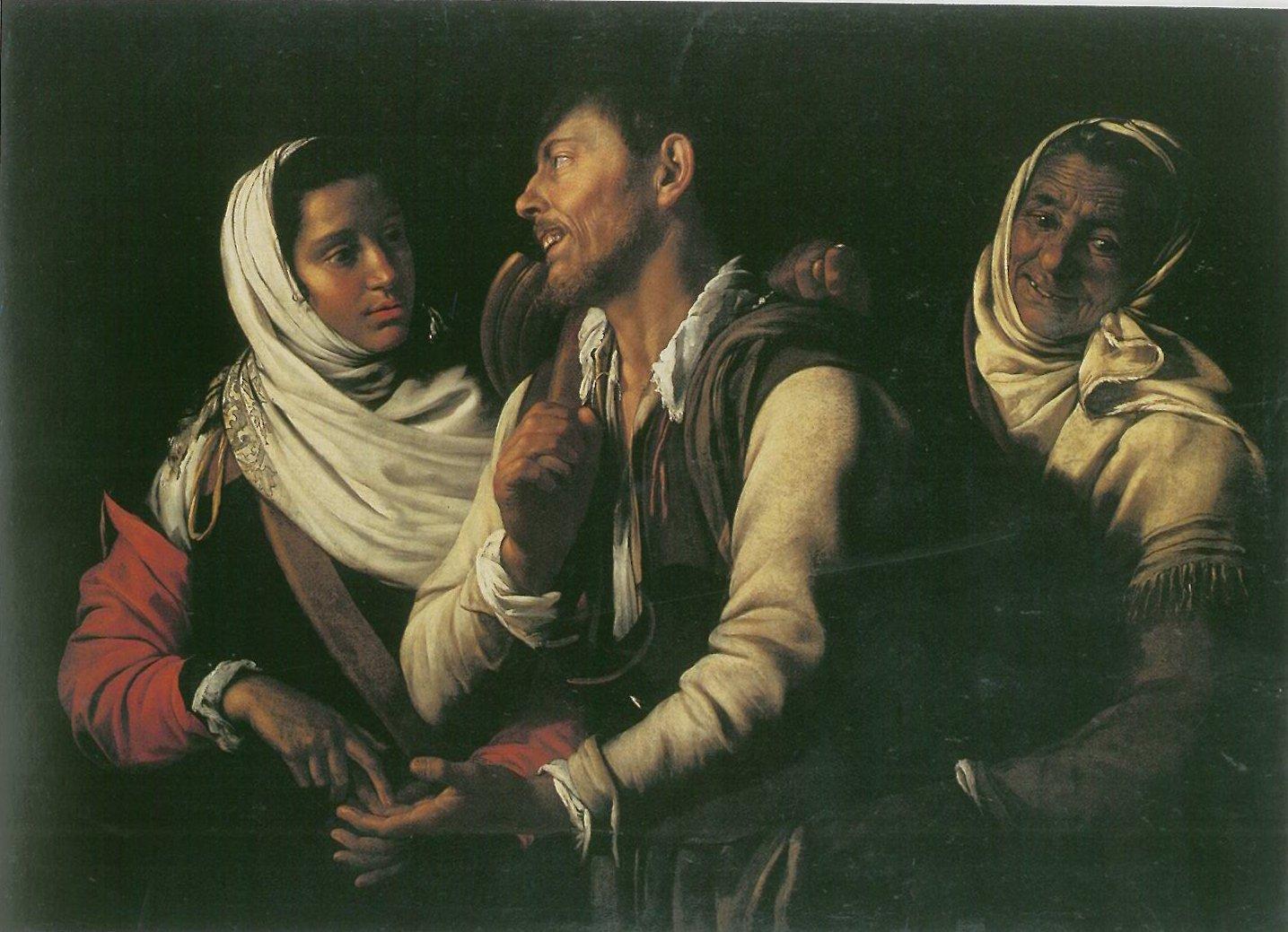 The Fortune Teller , Simon Vouet