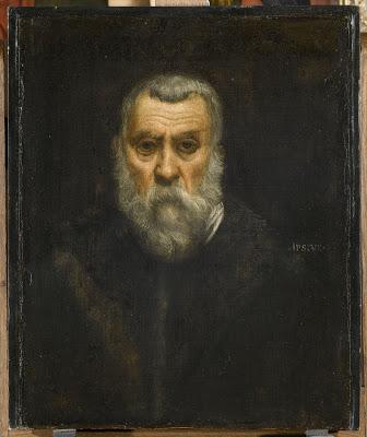 Self Portrait , Tintoretto, 1587. Musée du Louvre, Paris.