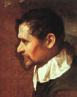 Self Portrait , Annibale Carracci