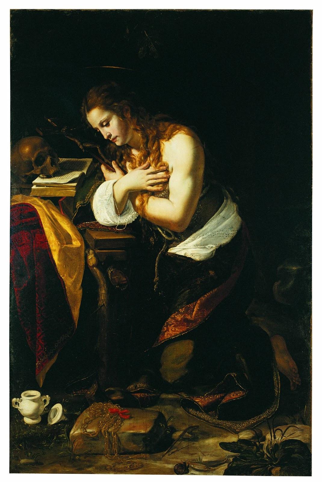 The Penitent Magdalene , Giovan Francesco Guerrieri