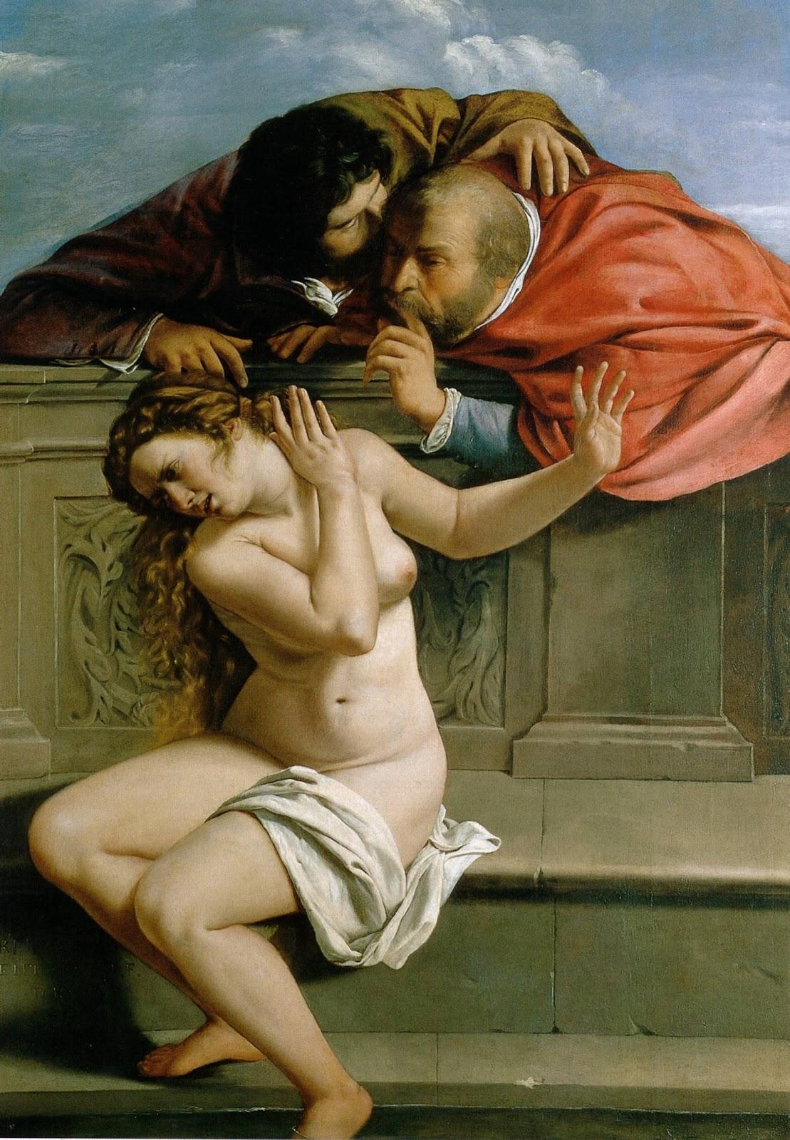 Susanna and the Elders , Arthemesia Gentileschi