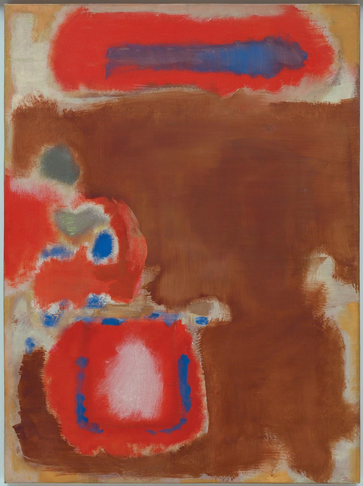 Untitled,  Mark Rothko, 1947. Solomon R Guggenheim Museum, New York